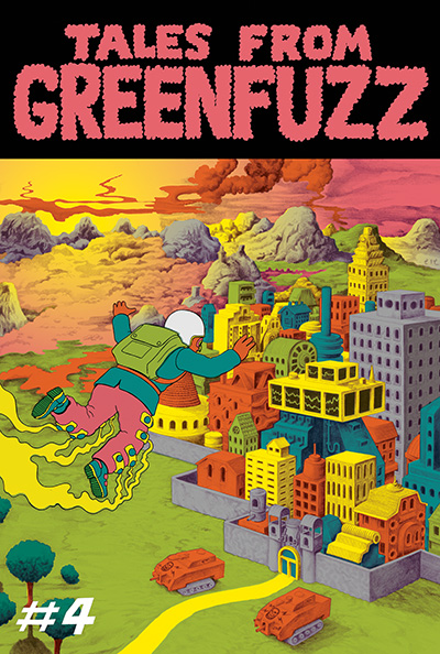 Tales From Greenfuzz 4 Cover