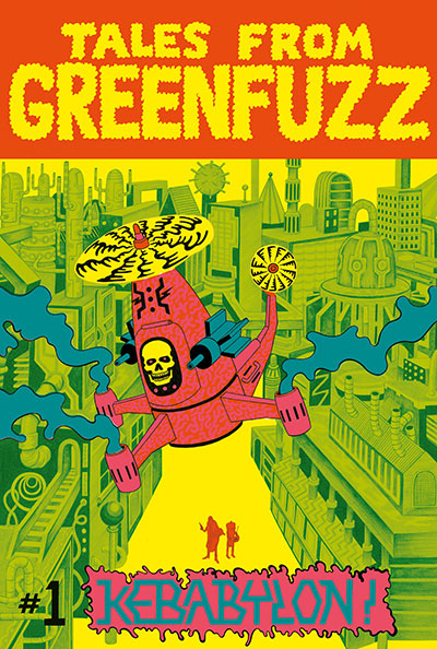 Tales From Greenfuzz 1 Cover